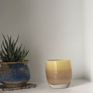 Yellow Tea Light Jar